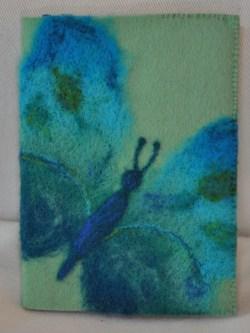 1176 Cover Vlinder Blauw Groen