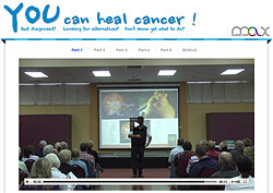Film: You can heal Cancer, Deutsch