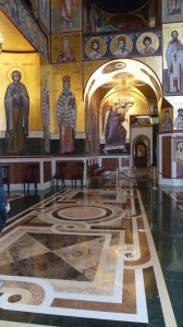 Podgorica Basilica interno 1