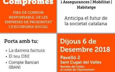 L'Ateneu Cooperatiu del Vallès Occidental participa en la Fira de Consum Compromès, el proper 6 de desembre a Sant Cugat del Vallès