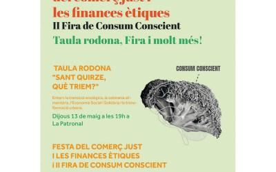 Festa del Comerç Just i la Banca ètica i II Fira de Consum Conscient