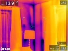 Svetainės išorinio kampo termonuotrauka
