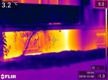 Daugiabučio namo pamato termonuotrauka