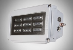 luminaria ATEX LED pared