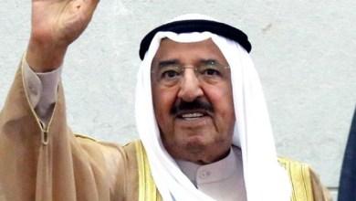 Photo of صباح الأحمد يغادر الكويت باتجاه السلطنة