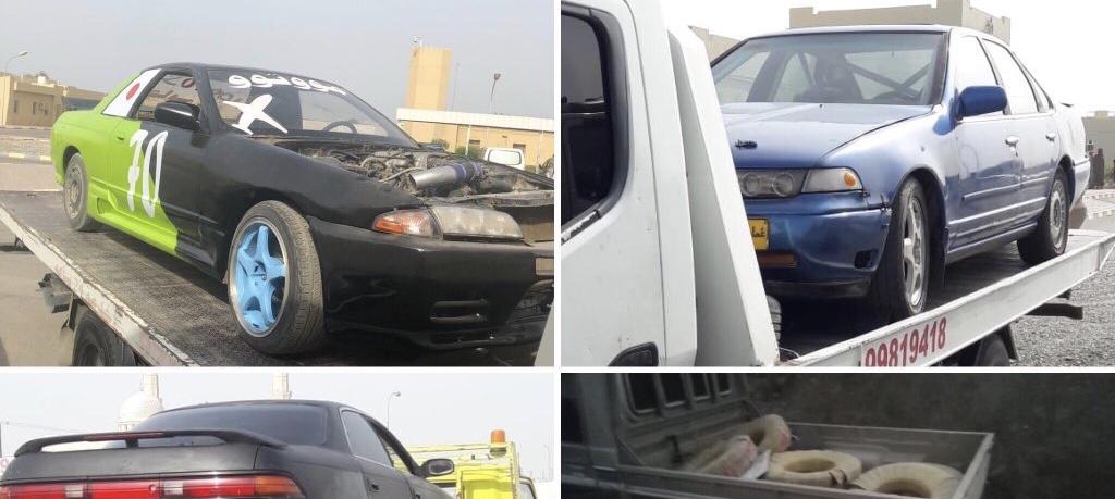 بينهم خليجيون: ضبط مركبات وسائقيها في صحار وشناص