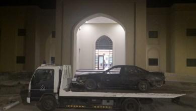 Photo of مفحطّان وهاربٌ من موقع حادث في قبضة الشرطة