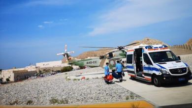 Photo of إنقاذ مواطن سقط من جبل بالعامرات