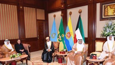 Photo of تحيات من جلالة السلطان لأمير الكويت