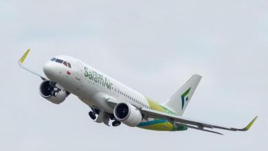 Photo of طائر يصطدم بطائرة لطيران السلام