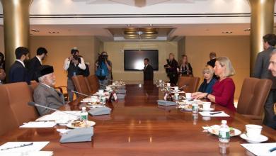 صورة في نيويورك: اجتماع خليجي أوروبي برئاسة السلطنة ولقاءات بن علوي تتواصل