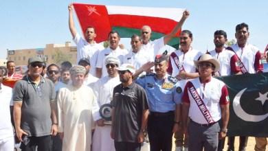 صورة لليوم الثاني على التوالي.. منتخبنا لالتقاط الأوتاد بطلًا في الأردن
