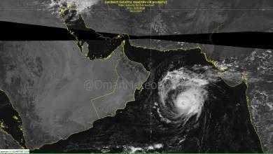 Photo of احتمالية لتطور إعصار مها إلى الدرجة الثالثة