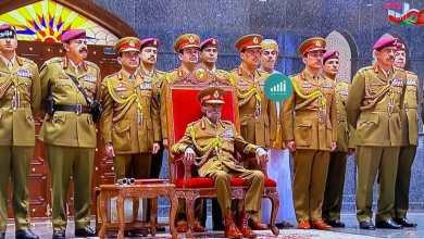 Photo of بالفيديو والصور: جلالة السلطان يتفضل برعاية العرض العسكري