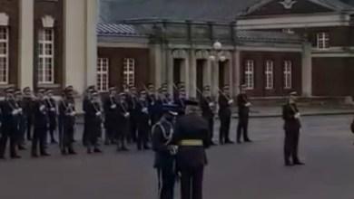 Photo of عماني أفضل ضابط غير بريطاني في كلية كرانول الملكية