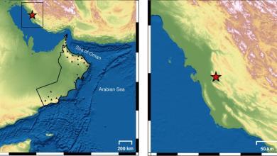 Photo of رصد زلزال يبعد عن مسندم 564 كم