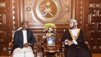 صورة بالصور: السيد أسعد يستقبل مبعوثًا من الرئيس الأوغندي