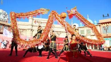 """صورة وسط مخاوف من """"كورونا"""": الإمارات تحتضن احتفالات بالسنة الصينية الجديدة"""