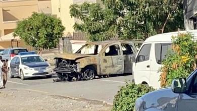 """Photo of """"الدفاع المدني"""" توضح حول حريق مركبة في المعبيلة"""