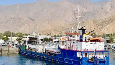 Photo of من وإلى مسندم : نقل 11000 شخص و 9000 طن من البضائع والسلع