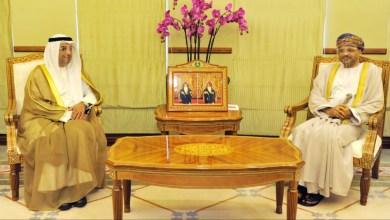 صورة وزير الخارجية يستقبل أمين عام مجلس التعاون