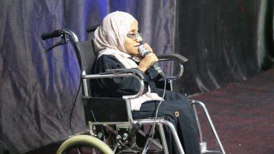 صورة رغم إعاقتها الحركية: الخصيبية تُبدِع في مجال الإعلام
