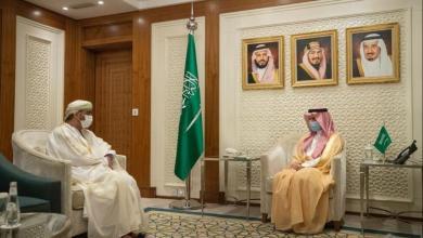 صورة وزير الخارجية السعودي يستقبل سفيرنا