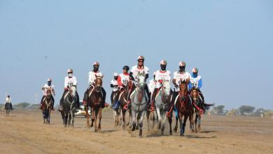 صورة غدًا: أول سباق للقدرة والتحمل في القرية الجديدة