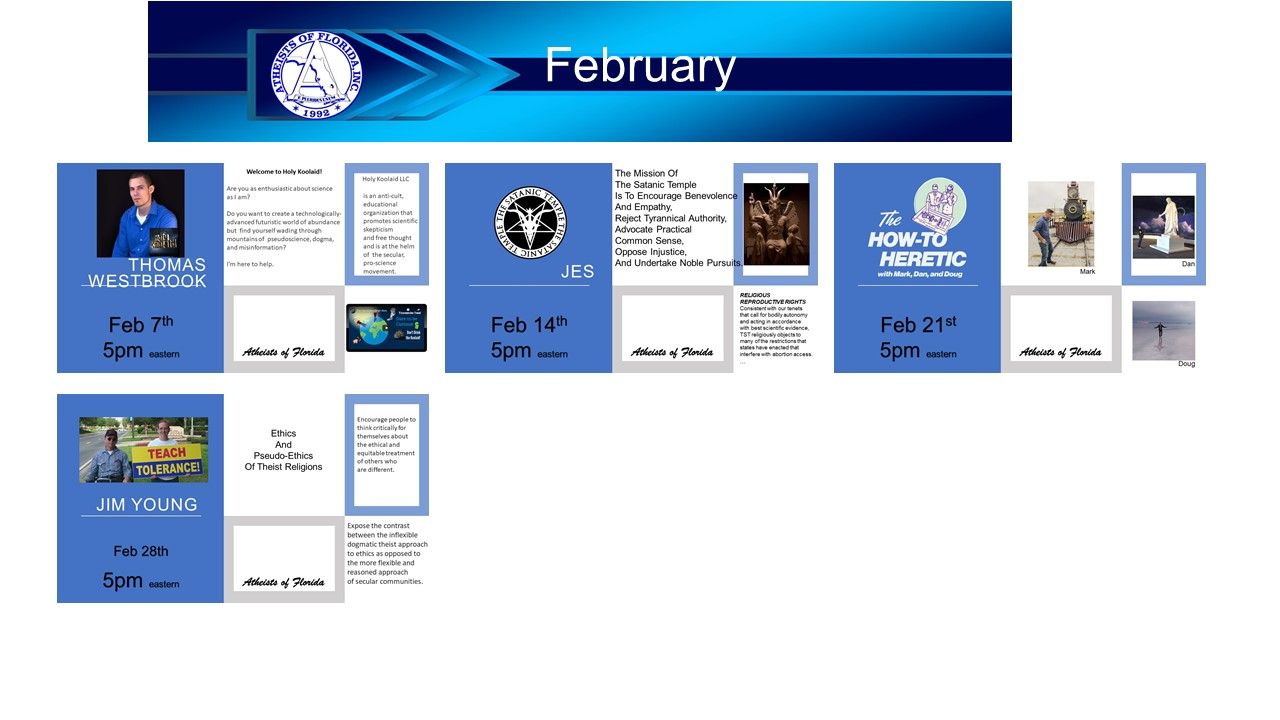 events for February