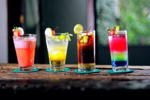 Colorful Cocktails Athelio Com