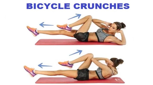 Bicycle Crunches Athelio