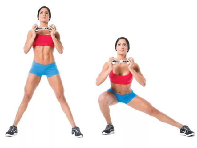 Goblet Lateral Lunge Athelio