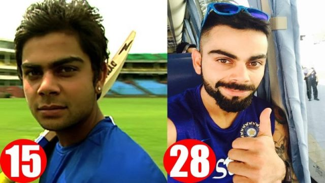 Virat Kohli Transformation Athelio