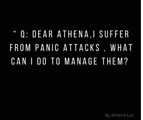 Cosmopolitan Column on How to Manage a Panic Attack