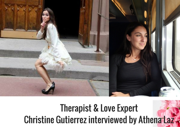 Athena Laz interviews Christine Gutierrez on love addiction, trauma and healing