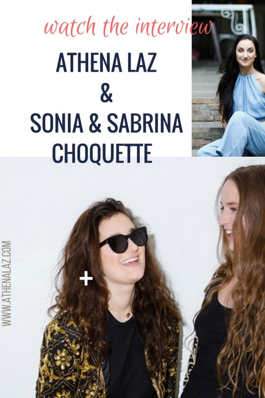 Sonia & Sabrina Choquette Tully chat to Athena Laz on Intuition and their new book You are Amazing