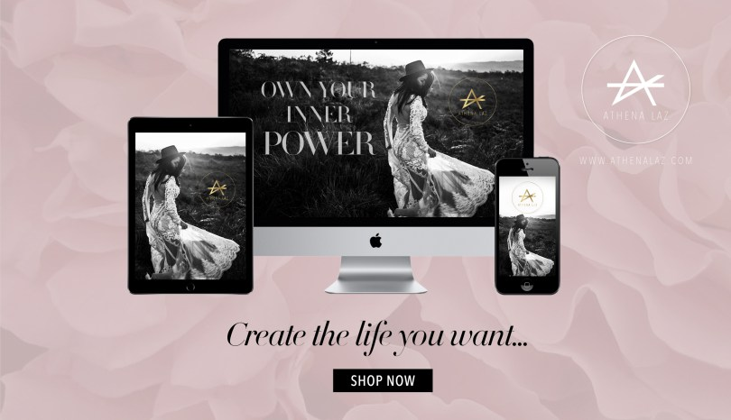 Own Your Inner Power Signature Program by Athena Laz