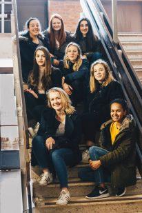 groepsfoto voor Charlie