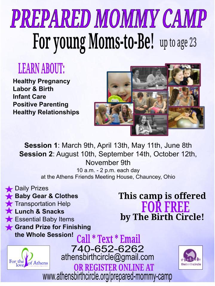 Prepared Mommy Camp