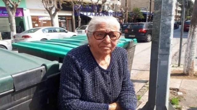 Θεσσαλονίκη: Σπαράζει καρδιές η 90χρονη