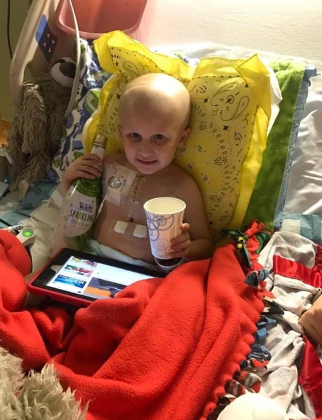παιδί μάχη με καρκίνο