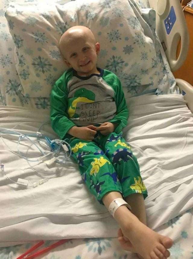παιδάκι μάχη με καρκίνο