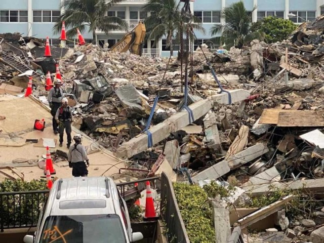 Νεκρός βρέθηκε ο 21χρονος Έλληνας στην κατάρρευση κτιρίου στο Μαϊάμι - Σβήνουν οι ελπίδες για 140 αγνοούμενους