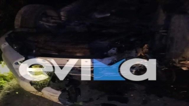 Νεκροί δύο 19χρονοι σε τροχαίο στην Εύβοια