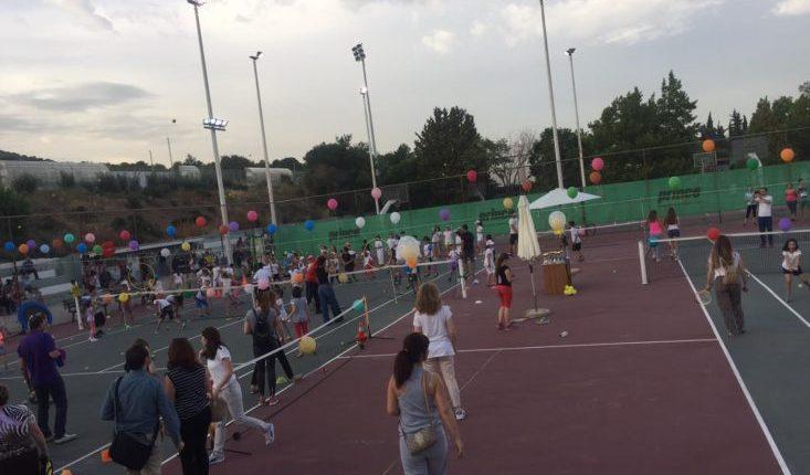γιορτή του Τμήματος Εκμάθησης Αντισφαίρισης