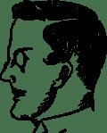 Male Head Profile (Burschenschafter)