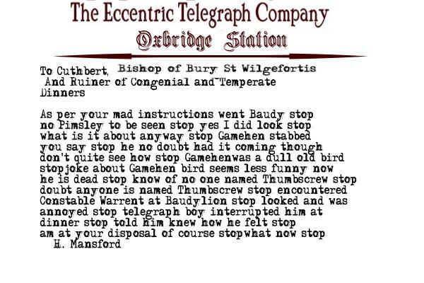 Telegram Eight