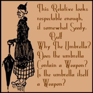 Umbrella is weapon