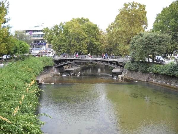 Ο ποταμός Ληθαίος στο κέντρο των Τρικάλων