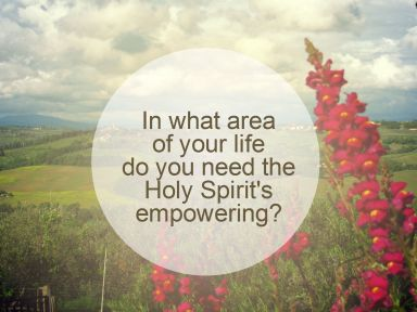 holy spirit flower
